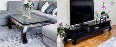 Shiva soffbord från MIO dimensioner (L130 B70 H45)  pris 500kr Shiva TV-bänk från MIO  dimensioner (B170 D45 H38) pris 500kr