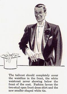The Waistcoat-faux pas (Evening Dress)