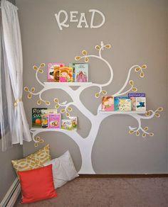 Bookshelf for children's room