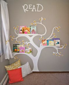 Bookshelf for children's room