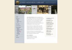Jones Memorial Library: http://www.jmlibrary.org via @url2pin