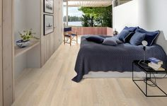 Makuuhuone 2 Plank, Comforters, Lounge, Couch, Gallery, Bed, Inspiration, Furniture, Home Decor