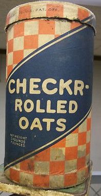 old cereal boxes Rolled Oats, Vintage Box, General Store, Vintage Advertisements, Vintage Kitchen, Rolls, Cereal Boxes, Canning, Tins