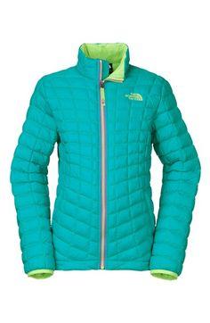 The North Face 'ThermoBall®' Water Resistant PrimaLoft® Quilted Jacket (Little Girls & Big Girls)