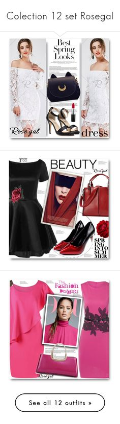 """""""Colection 12 set Rosegal"""" by sajra-de on Polyvore featuring H&M, MAC Cosmetics, vintage, Jennifer Lopez, NARS Cosmetics and Dolce&Gabbana"""