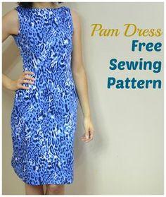 FREE SEWING PATTERN: THE PAM DRESS.