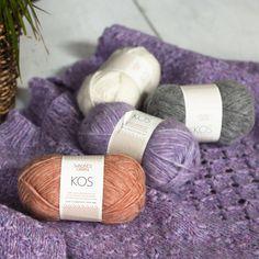 Sandnes Garn Kos knitting yarn. Yarn by Fiber Synthetic fibers , Wool , Alpaca Fibers 9 % Wool , 62 % Baby Alpaca , 29 % Nylon #yarn #sandnesgarn Arm Knitting Yarn, Crochet Yarn, Yarn Color Combinations, Online Yarn Store, Yarn For Sale, Yarn Storage, I Love This Yarn, Yarn Inspiration, Yarn Shop