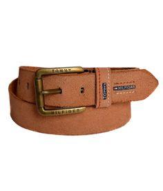 Tommy Hilfiger Brown Casual Single Belt For Men
