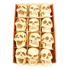 Mini Skulls with Movable Jaw 10cm Ea | Party Supplies, Decorations, Products, Goods, Costumes Melbourne