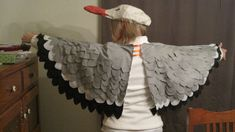 Seagull wings tutorial