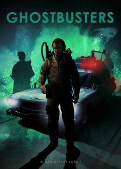 ghostbusters ghost busters bill murray dr peter venkman car legends movie film cars sports sport race run racing wheels speed ghosts Movies & TV Ghostbusters Poster, The Real Ghostbusters, Eden Design, Arte Nerd, The Blues Brothers, Ghost Busters, Emblem, Car Posters, Movie Poster Art