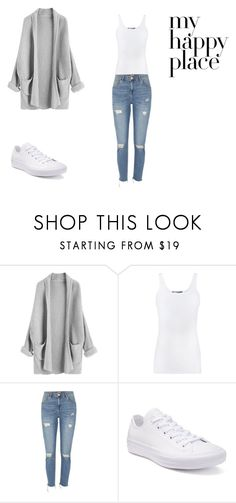 """Astrantia"" by emmie420 ❤ liked on Polyvore featuring Vince, River Island and Converse"