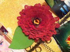 Giant paper flowers   RoyGBivs@etsy.com
