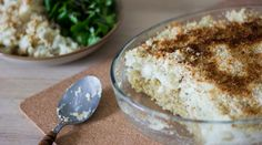Gratin de chou-fleur & quinoa {végane}