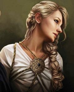 """Queen Daena Targaryen """"The Defiant"""" was the third child of Aegon III and Daenaera, sister-wife to her brother King Baelor. He dissolved their (never consummated) marriage as soon as he became king, and locked her and their two sisters in a tower because he refused to abide by the Targaryen practice of incest. She was """"rescued"""" by their cousin, the future Aegon IV. They had an affair which resulted in a son, Daemon Waters (later Daemon Blackfyre)."""