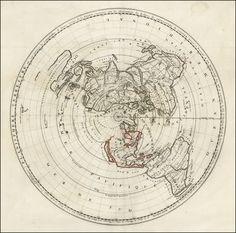 Giovanni Domenico Cassini / Jean Baptiste Nolin: Planisphere Terrestre … 1696