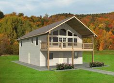 Popular Compact Design - 35361GH | 2nd Floor Master Suite, CAD Available, Carriage, Corner Lot, Metric, Mountain, PDF, Vacation | Architectural Designs