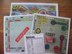 I had these with the exception of Candy Land.  I also had chutes and ladders and clue.