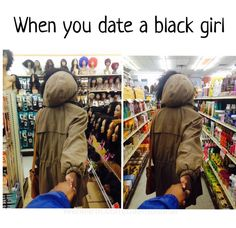black, me, and black girls image