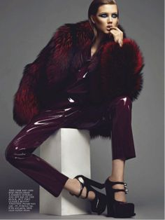 visual optimism; daily fashion fix.: shooting star: lindsey wixson by max abadian for flare september 2012 #photography #fashion