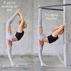 yoga fitness ~ yoga _ yoga poses _ yoga poses for beginners _ yoga fitness _ yoga quotes _ yoga inspiration _ yoga photography _ yoga outfit Yoga Beginners, Beginner Yoga, Advanced Yoga, Bodybuilding Training, Bodybuilding Workouts, Yoga Fitness, Yoga Routine, Yoga Inspiration, Dance Stretches