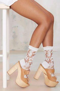 Garden Party Socks