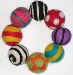 needle felting, wet felting and felt creations Felted Wool Crafts, Felt Crafts, Wet Felting, Needle Felting, Craft Stalls, Pom Pom Crafts, Wool Art, Craft Club, Needle Felted Animals