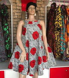 african print dresses Ankara valentine's day dress gift for her or friends. Perfect outfits for valentine's day. Made with pure wax cotton available in different colours and sizes Best African Dresses, Latest African Fashion Dresses, African Print Dresses, African Attire, Ankara Fashion, African Print Dress Designs, African Print Clothing, African Prints, African Fabric