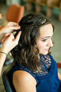 7 Ways to Style Hair for Every Summer Occasion // date night // how to // waves with a twist // #diy #beauty // hair by Lindsey Kidd // makeup by Natalie Laine // photography by Awake Photography