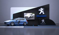 Peugeot Backdrop by ahmad arty, via Behance