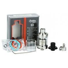 Clearomiseur goblin mini V3  Goblin Mini V3  Atomiseur reconstructible de 2 mL, single ou dual coil