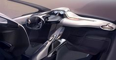 Funky final dash #interiordesign #car #sketch #industrialdesign #design…