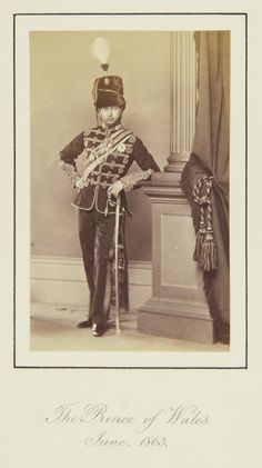 The Prince of Wales, June 1863 [in Portraits of Royal Children Vol.7 1863-1864] | Royal Collection Trust