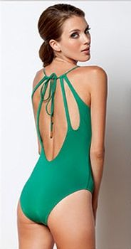 Sauipe Swimwear 2013 - Love the back detail on this one-piece swimsuit!