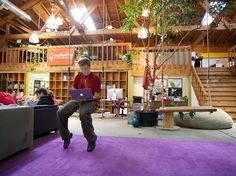 22 Gorgeous Startup Offices You Wish You Worked In - CouchSurfing in San Francisco, California