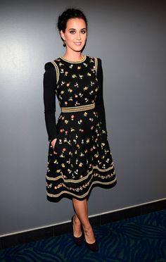 Nos encanto el vestido de Katy en Peoples Choice Awards 2013