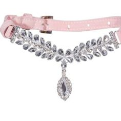 OMG! These jewled dog collars are the cutest thing ever. Your pooch can look like a princess. <3