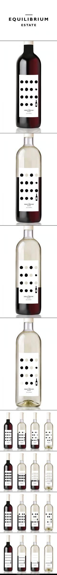 Equilibrium Estate Wine. Australian designer, Gemma Warriner  #maximum #taninotanino