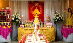 Incredible Beauty and the Beast birthday party! See more party ideas at CatchMyParty.com!