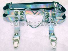 Aliexpress.com : Buy Free Shipping !!Psychedelia Series WILD HEART  Symphony laser leg ornaments futuristic series Leg Garter from Reliable ...