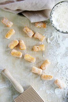 Local Milk | ricotta & sweet potato gnocchi with buttermilk mornay, fresh figs, and pancetta