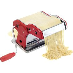 Prepare your favorite Italian dishes in style with this professional-grade pasta machine, perfect for your next dinner party or weeknight meal.