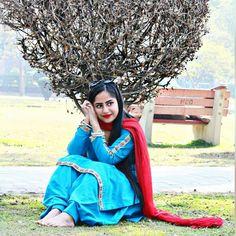 Shalwar Kameez, Patiala, Kurti, Punjabi Girls, Punjabi Suits, Asian Fashion, Casual Wear, Desi, Anniversary