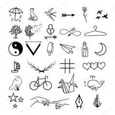 Tattoo designs drawings inspiration doodles Ideas for 2019 Mini Tattoos, Cute Tattoos, Body Art Tattoos, Small Tattoos, Tatoos, Easy Tattoos To Draw, Little Tattoos, Kritzelei Tattoo, Doodle Tattoo