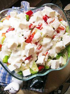 Feta, Salad, Cheese, Cactus, Salads, Lettuce