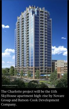 Coming Soon! New 24 Story SkyHouse Apartment Building! http://evpo.st/1hQrGi7