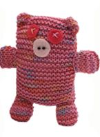 Mr & Mrs. Piggy - Knitted Soft Toy ~ Free Pattern