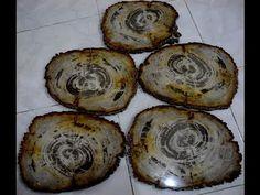 IndoGemstone Petrified Wood Slab - YouTube