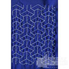 Sashiko Quilt Embroidery Design 16