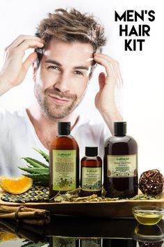 We created this kit specifically for Men. We want you to have a simple hair care routine that will take care of your hair today, while preserving the health of your hair for the future. We picked our favorite products that will nurture your scalp and promote thick healthy hair growth.